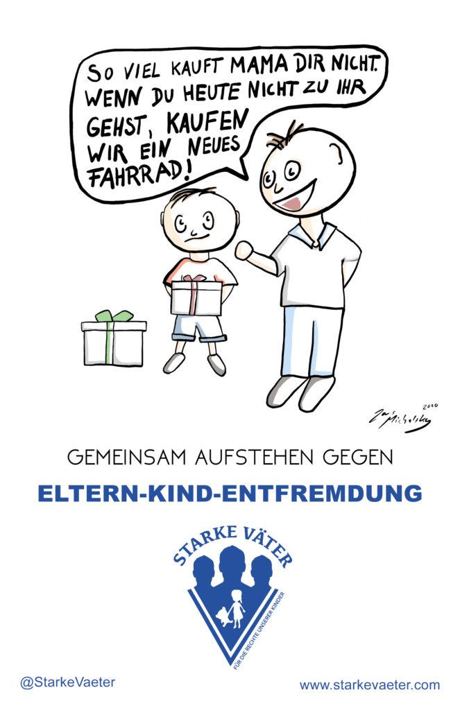 EKE - Beispiel einer Entfremdung durch den Kindesvater